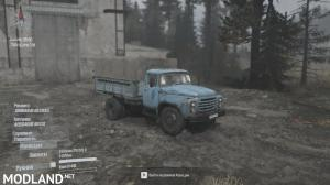 Zil-130 v 31.10.17  FOR SPINTIRES: MUDRUNNER, 1 photo