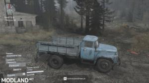 Zil-130 v 31.10.17  FOR SPINTIRES: MUDRUNNER, 3 photo