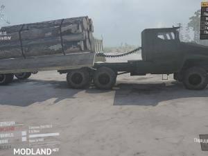 "Ural ""Typhoon"" Truck v1.0 - Spintires: MudRunner , 2 photo"
