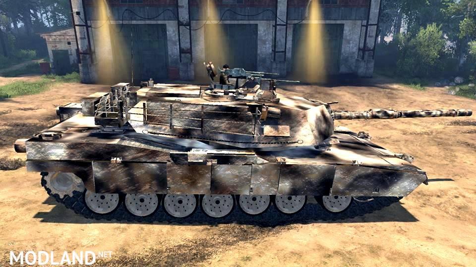 "Tank ""M1 Abrams Desert Camo"" version 03.05.17"