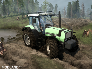 Deutz Agro 661 version 17.11.17 for Spintires: MudRunner (v07.11.17), 2 photo
