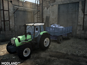 Deutz Agro 661 version 17.11.17 for Spintires: MudRunner (v07.11.17), 3 photo