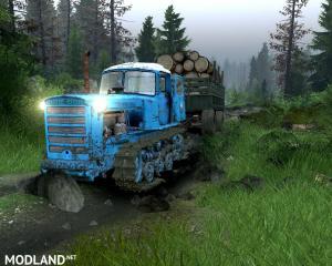 DT-75 Bulldozer multiplayer,version 02.07.17, 3 photo