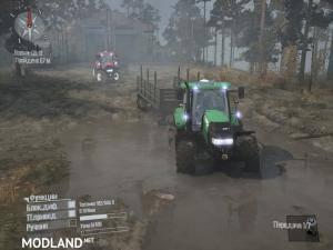 Case IH 160 CVX Tractor v1.0 - Spintires: MudRunner