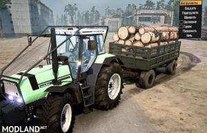 Deutz Agro 661 Tractor v1.0 - Spintires: MudRunner , 3 photo