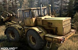 Original K-700 Tractor - Spintires: MudRunner