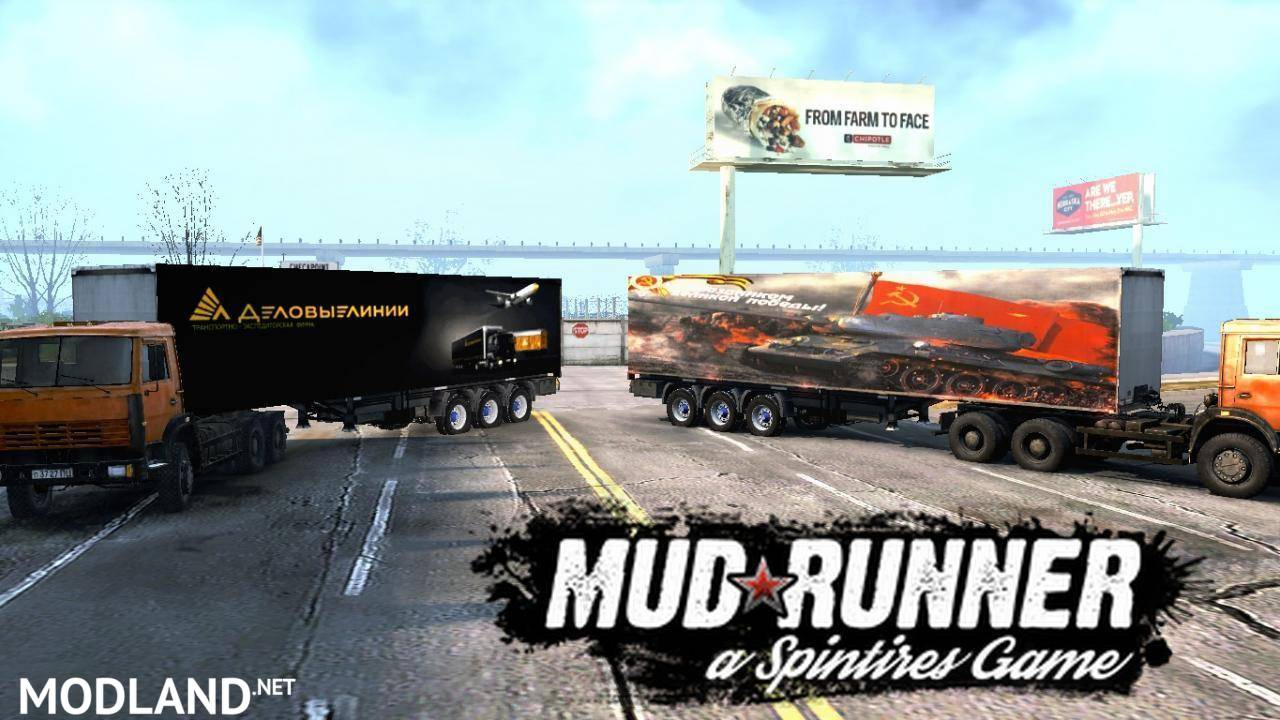 PACK OF SEMI-TRAILERS VERSION 3
