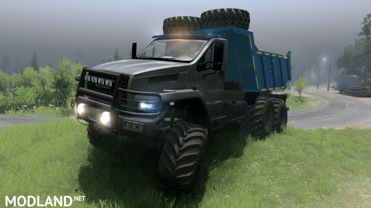 Ural Next «ARMATA» version 10.07.18 for (v03.03.16)