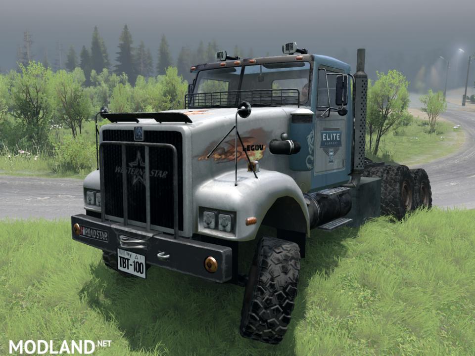 """Western Star LEGOV-TBT100 Mk1 + Mk2 """"Elite"""" v 1.2 (v03.03.16)"""