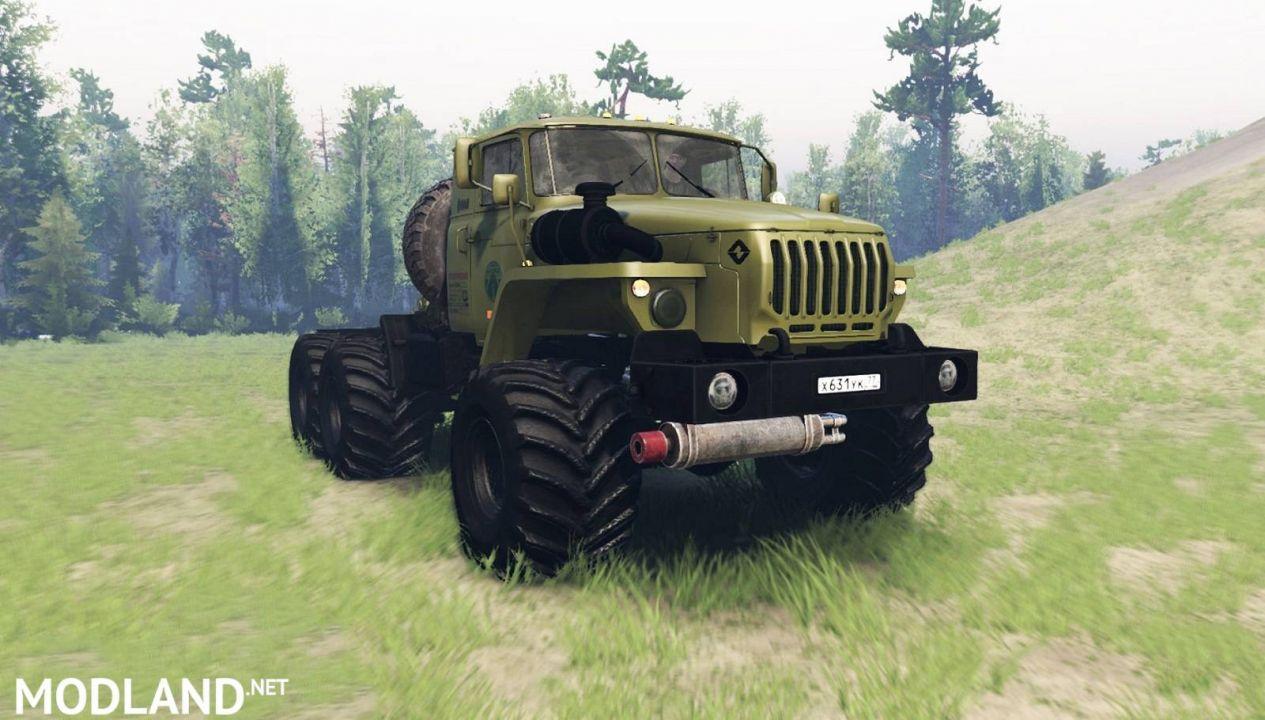Ural 44202-0511-41 for Spintires (03.03.16)