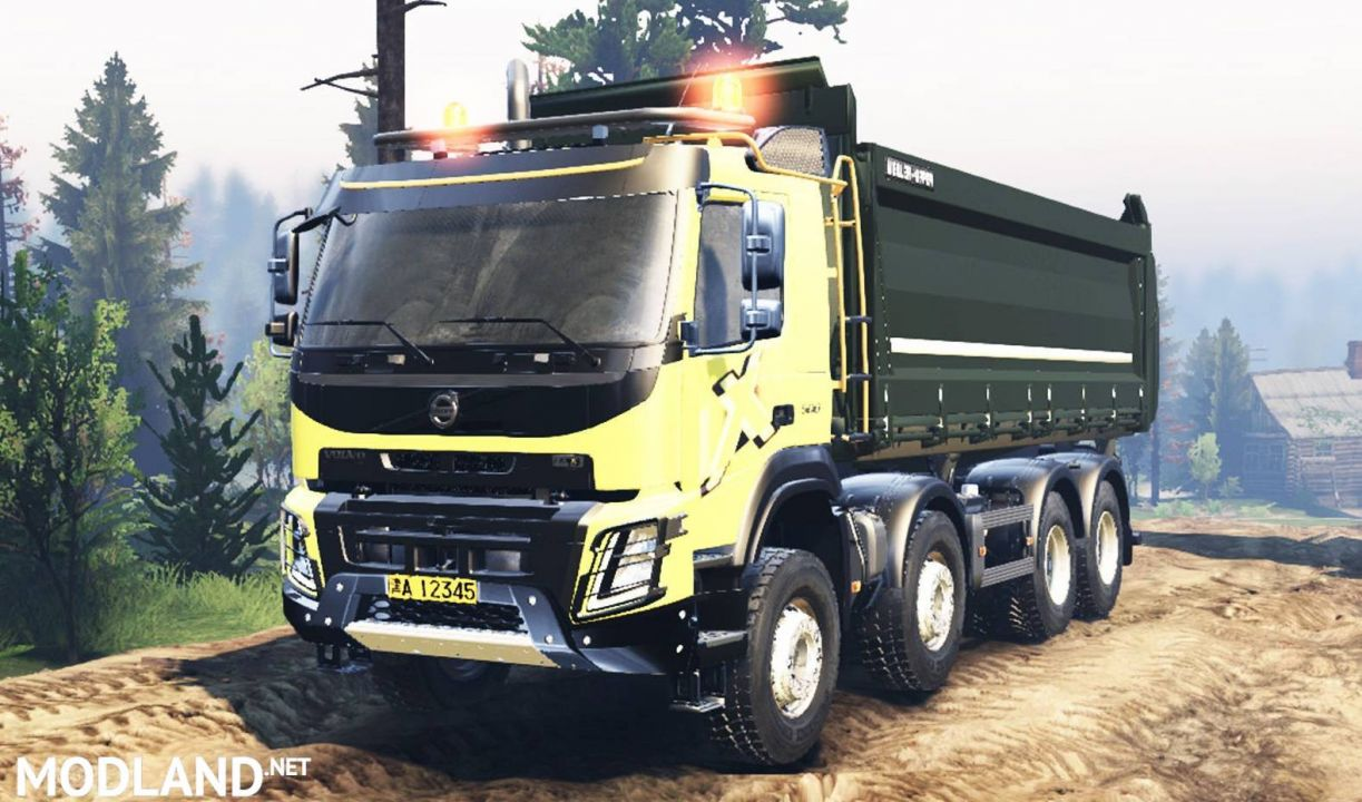 Volvo FMX 2014 for SpinTires