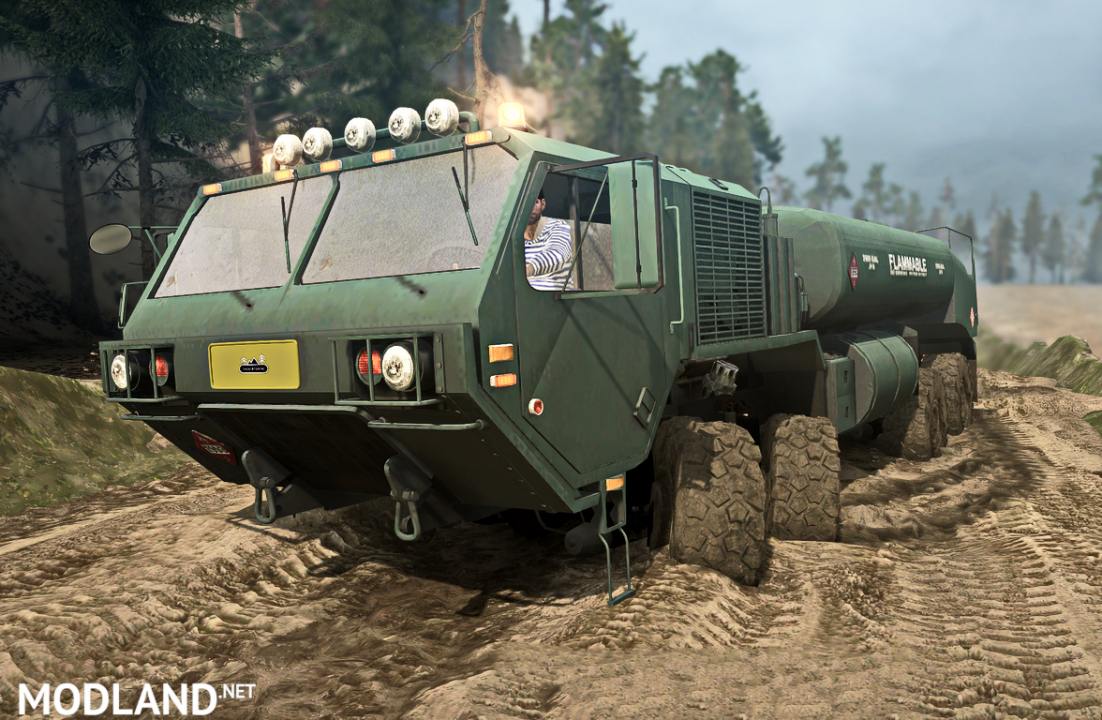 Oshkosh M977HP version 18.11.17 for Spintires: MudRunner (v07.11.17)