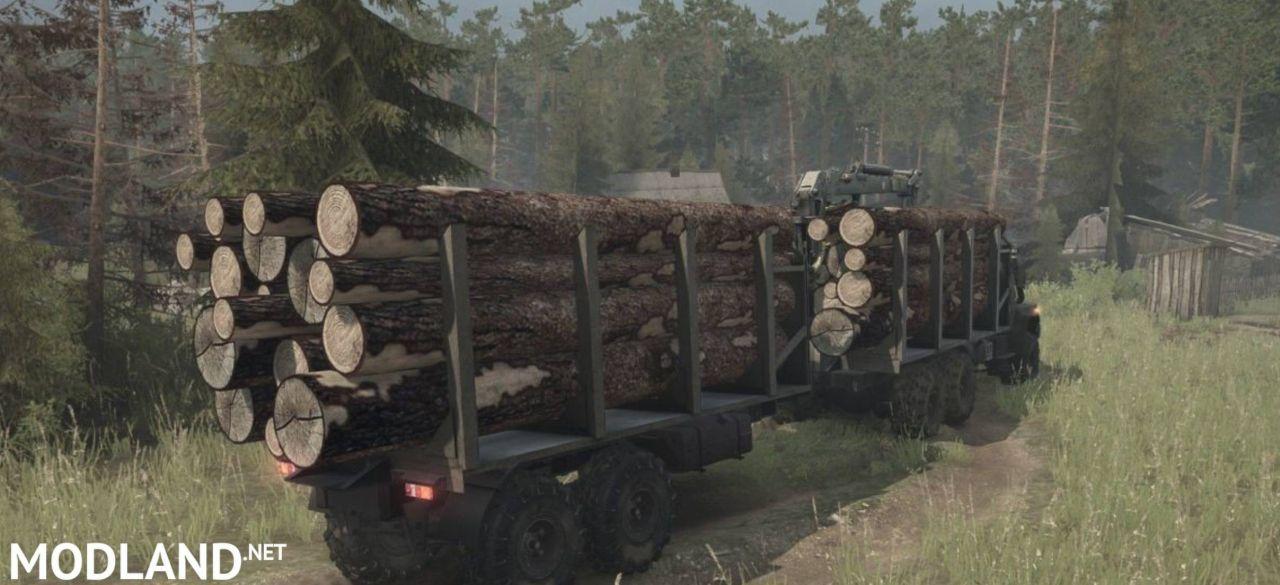 Kraz-260 (M) Truck v13.11.17 - Spintires: MudRunner