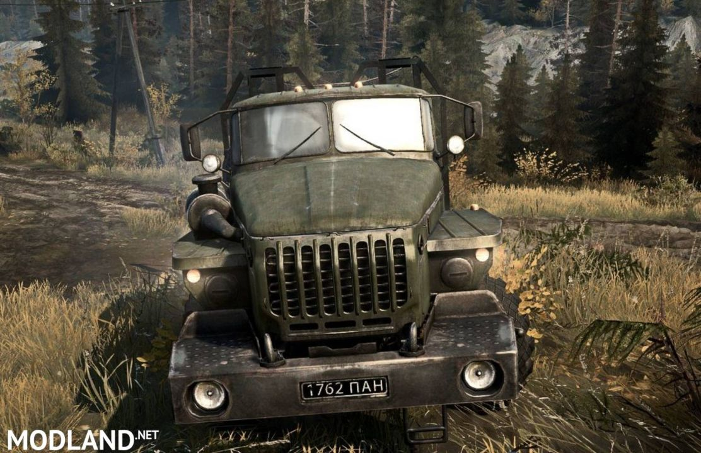 Original model Ural-432010 Truck - Spintires: MudRunner