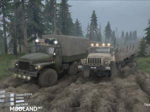 Ural Package v1.0 - Spintires: MudRunner