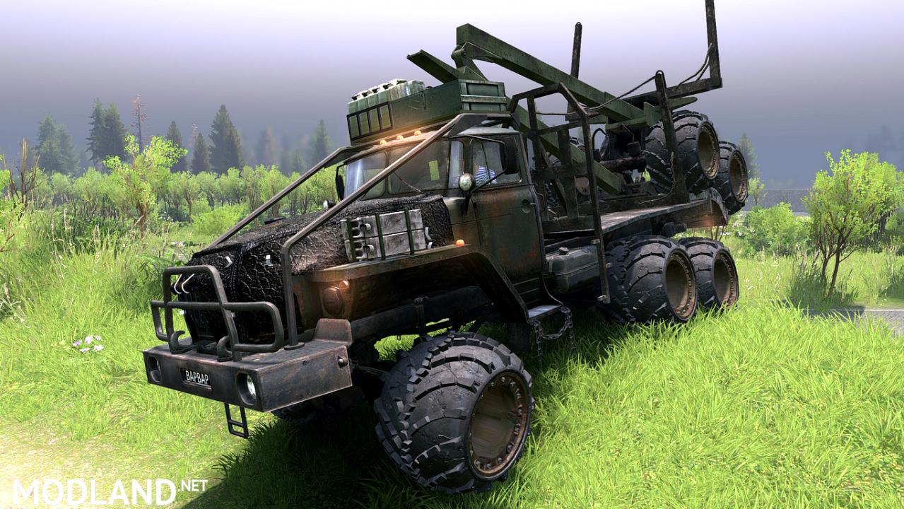 "Ural-4320-10 ""The Barbarian"""