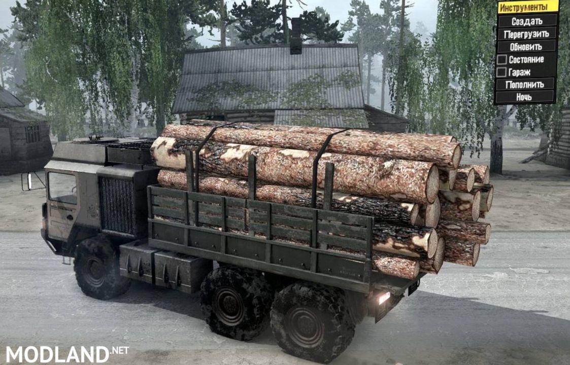 TBT.HX60 Truck v15.11.17 - Spintires: MudRunner