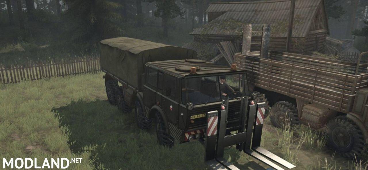 Tatra 813 8×8 Pack v17.11.17 [UPDATE] - Spintires: MudRunner