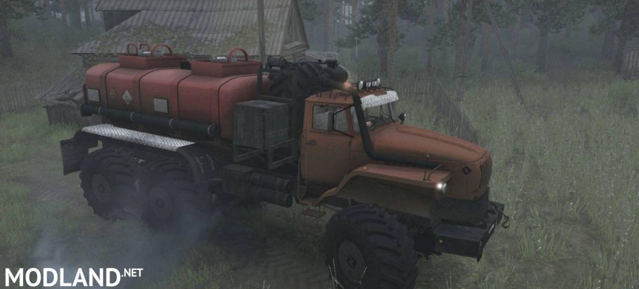 "URAL ""Polar"" Truck v10.11.17 [UPDATE] - Spintires: MudRunner"