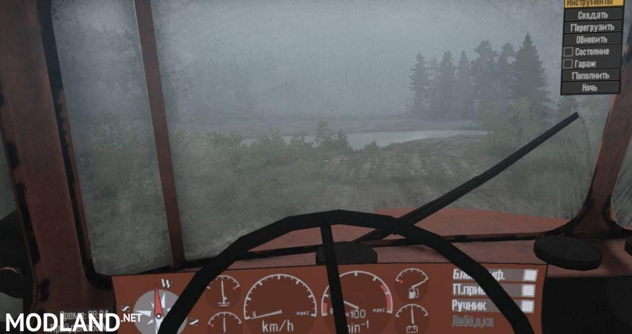 Ural-4320-41 SVE v12.11.17 [UPDATE] - Spintires: MudRunner