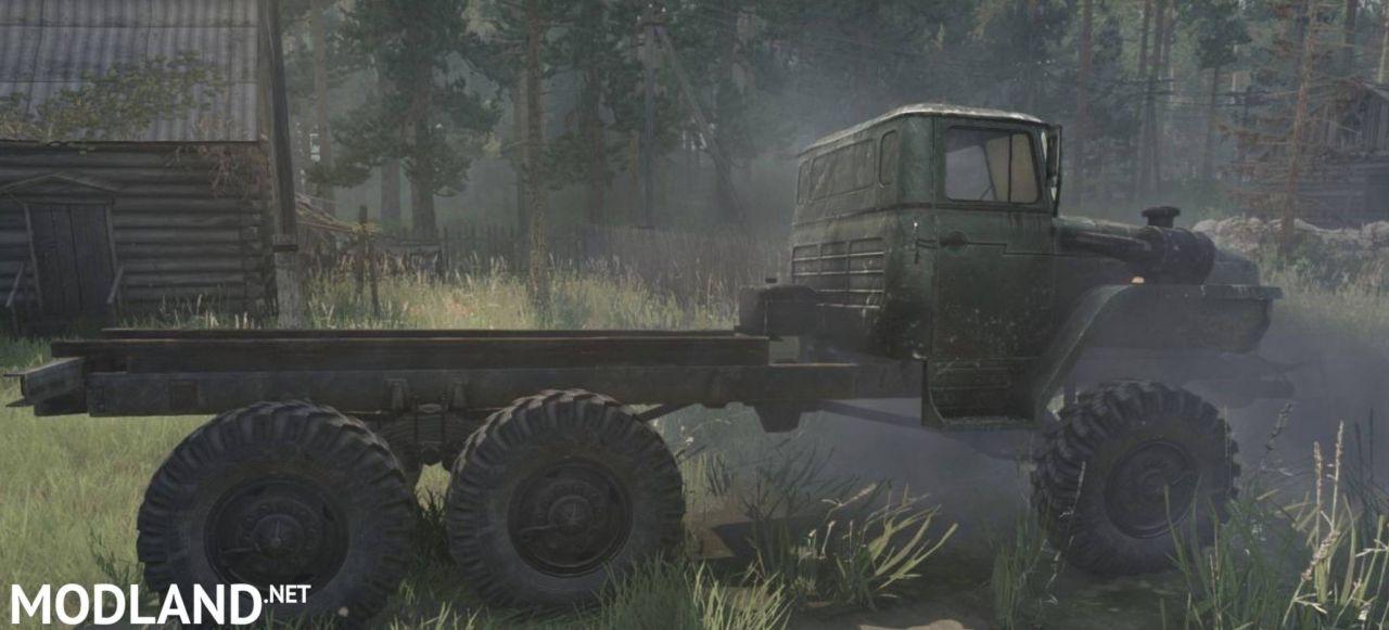 Ural-4320 Truck v12.11.17 - Spintires: MudRunner