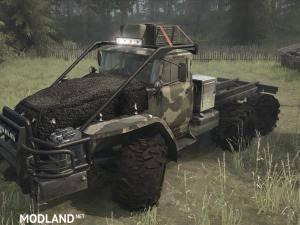 Ural-43201 SGS Truck v17.11.17 - Spintires: MudRunner