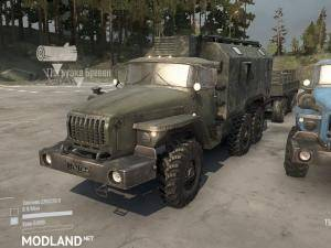 Modified Ural-432011 v07.11.17 - Spintires: MudRunner