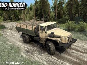 Ural-43206 v2.0 - Spintires: MudRunner