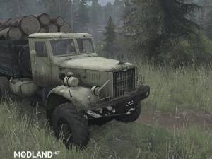 Yaaz-214 Truck v11.11.17 [UPDATE] - Spintires: MudRunner