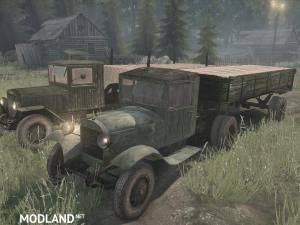 ZIS-5 Truck - Spintires: MudRunner