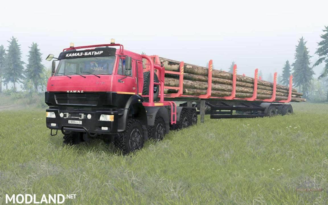 KamAZ 65228 (Kamaz Batyr) Truck