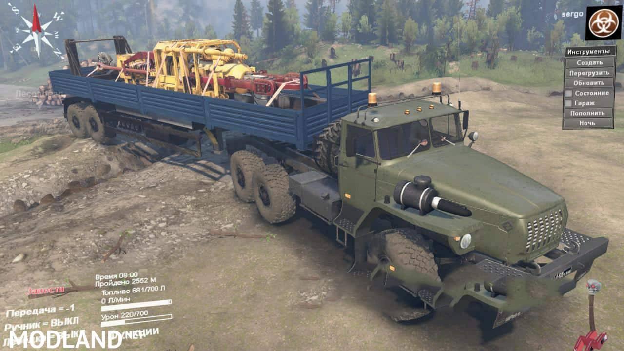 Ural4320-10 Truck