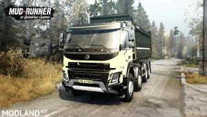 Volvo FMX 2014 Dump Truck v1.0 (v26.10.17) for Spin Tires: MudRunner, 2 photo