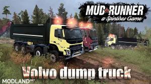 Volvo FMX 2014 Dump Truck v1.0 (v26.10.17) for Spin Tires: MudRunner