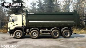 Volvo FMX 2014 Dump Truck v1.0 (v26.10.17) for Spin Tires: MudRunner, 3 photo
