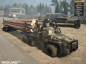 Ural-43201 SGS version 17.11.17 for Spintires: MudRunner (v07.11.17), 1 photo