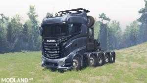 Scania R1000 for SpinTires, 1 photo
