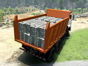 Kamaz-65111 SV version 1 for SpinTires (v03.03.16)