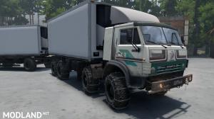 "KamAZ-6351 ""Mustang"" Timber truck version 14.02.18 for (v03.03.16), 1 photo"