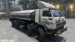 "KamAZ-6351 ""Mustang"" Timber truck version 14.02.18 for (v03.03.16), 4 photo"