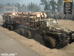 Ural-43201 SGS version 17.11.17 for Spintires: MudRunner (v07.11.17), 2 photo