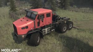 OSHKOSH M1070 HET RED - SPINTIRES: MUDRUNNER, 2 photo