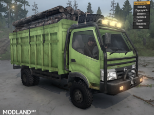 Hino 300 Series - 130HD for Spintires: MudRunner, 3 photo