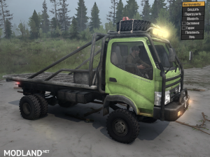 Hino 300 Series - 130HD for Spintires: MudRunner, 4 photo