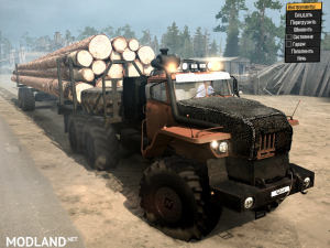 Ural Polarnik version 17.11.17 for Spintires: MudRunner (v07.11.17)