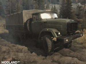 The Zil-E133 version is 19.11.17 for Spintires: MudRunner (v07.11.17), 1 photo