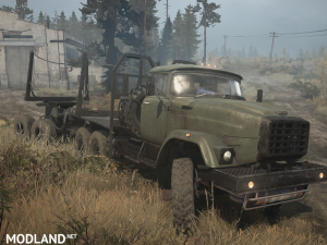 The Zil-E133 version is 19.11.17 for Spintires: MudRunner (v07.11.17), 4 photo