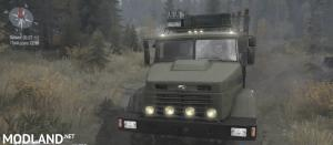 KrAZ-6322 Truck v14.11.17 - Spintires: MudRunner , 3 photo