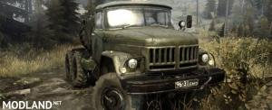Original Zil-131 model Truck - Spintires: MudRunner
