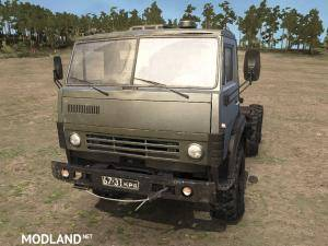 Original model Kamaz-4310 alternative v2.0 - Spintires: MudRunner , 1 photo